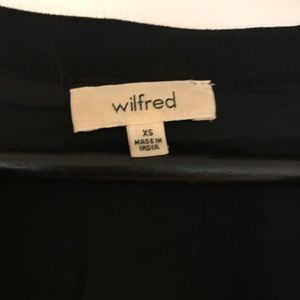 Wilfred Dresses - Aritzia boho black dress